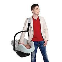 image of Cocobelt Car Seat Carrying Belt (Black)