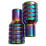 image of Team Dogz Neo Chrome Rainbow Stunt Pegs