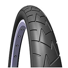 image of Rubena Comfort Pram & Stroller Tyre, 121 2 X 1, 75 X 2 (47-203), Black