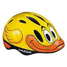 image of Lazer Max Quack Yellow Childrens Unisize Helmet 49 To 55cm