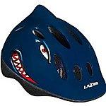 image of Lazer Max De Lux Shark Childs Kids Cycle Bike Helmet 49 To 56cm