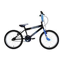 image of Zombie Outbreak Boys Bmx Bike Blue 20""