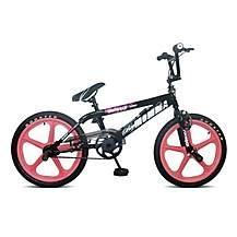 image of Rooster Big Momma 20inch Pink Skyway Mag Black Bmx Freestyler Bike