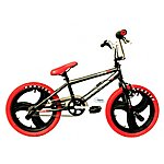 image of Rooster Xr8 18 inch Red Black Tony Hawks Mag Grey Bmx Freestyler Bike