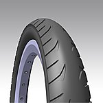 image of Rubena Golf Pram & Stroller Tyre, 16 X 1, 90 (50-305), Black