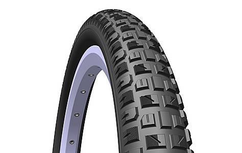 image of Rubena X-caliber Pram & Stroller Tyre, 121/2 X 1, 75 X 2 (47-203), Black
