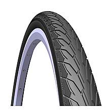 image of Rubena Flash City, Tour & Trek Tyre, 700 X 28c (28-622), Black