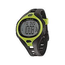 image of Dash Large Running Watch Black/lime