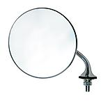 Mountney Classic Lucas Style Chrome Round Mirror. Right Hand Side.