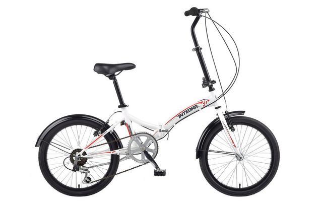 Integra Safari 6 Speed Folding Bike