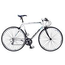 image of Viking Palermo 16 Speed 700c Flat Bar Mens Hybrid Road Bike 59cm