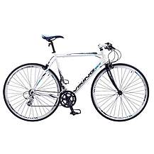 image of Viking Palermo 16 Speed 700c Flat Bar Mens Hybrid Road Bike 53cm