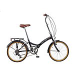 image of Viking Easy Street 6 Speed Folding Bike Black 13in