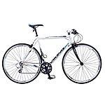 image of Viking Palermo 16 Speed 700c Flat Bar Mens Hybrid Road Bike 56cm