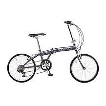 image of Viking Avenue 6 Speed Folding Bike Grey 11in