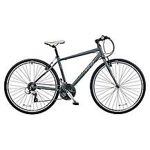 image of Viking Waterloo 24 Speed 700c Alloy Mens Hybrid Bike 19in