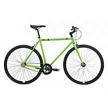 image of Feral Fixie, Single Speed, Fixed Gear Bike, Green, 49cm