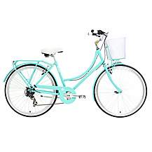 image of Kingston Bexley, Ladies Traditional Shopper Bike, Green, 17""