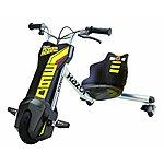 image of Razor Kids Power Rider 360 Three Wheeled Ride On - Black
