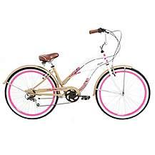 image of Mizani Flyer 7, Beach Cruiser Bike, Ladies, 7 Speed