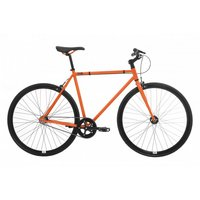 Feral Fixie, Single Speed, Fixed Gear Bike, Orange, 59cm