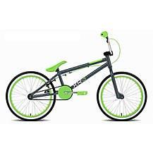 image of Rooster Xr6 20inch Spoke Grey/green Bmx Freestyler Bike