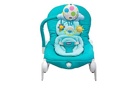 image of Chicco Baby Bouncer - Balloon (light Blue)