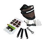 image of Btr Bicycle Puncture Repair Kit & Expandable Saddle Bike Bag