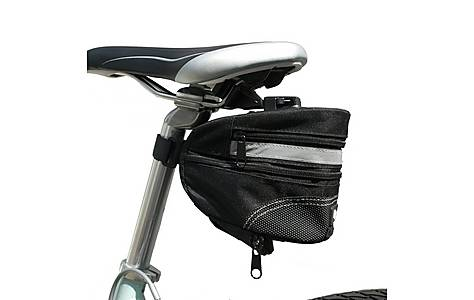 image of Btr Bicycle Expandable Saddle Bag With Quick Release Clip