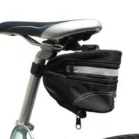 Btr Bicycle Expandable Saddle Bag With Quick Release Clip