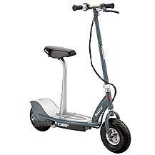 image of Razor E300s Seated Electric Scooter Grey