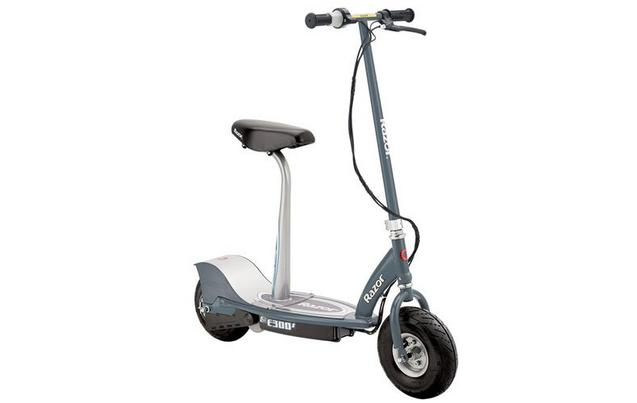 electric scooters electric scooters for kids halfords image of razor e300s seated electric scooter grey