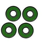 image of Pack Of 4 X Abec11 Wheel Bearings