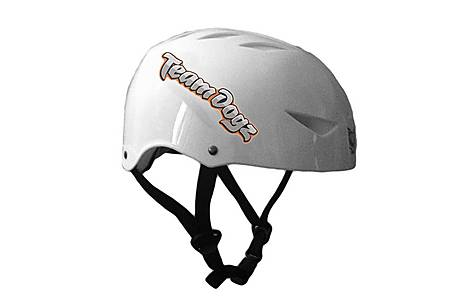 image of Team Dogz Scooter Protective Crash Helmet - White Small