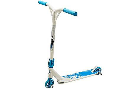 image of Team Dogz Pro 4 X Gen Stunt Scooter - White & Blue
