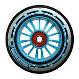 Team Dogz 100mm Nylon Wheels - Blue Core Black Pu