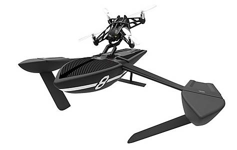 image of Parrot Minidrone Evo - Hydrofoil Orak (black)