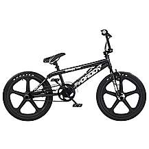 image of Rooster Big Daddy 20inch Black Skyway Mag Black Bmx Freestyler Bike