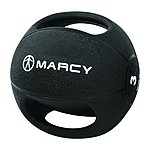 image of Marcy Double Handle Medicine Ball Rubber - 7kg