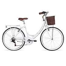 image of Kingston Dalston, Ladies Traditional Bike, White, 19in
