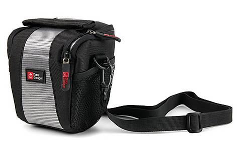 image of Duragadget Storage Bag For Gopro - Black & Grey