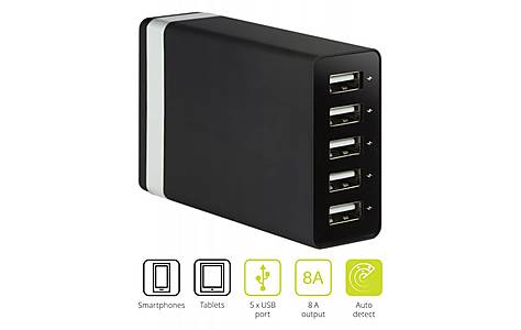 image of 5-port Usb Charger 8a