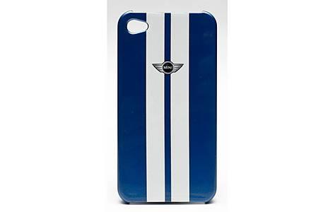 image of Iphone 4 And Iphone 4s Stripe Hard Case Metallic