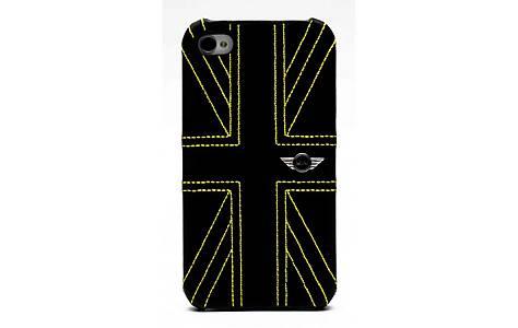 image of Iphone 4 Union Jack Leather Hard Case
