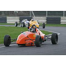 image of Single Seater Racing Car Driving