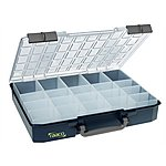 image of Raaco Carrylite Organiser Case 80 5x10-20 20 Inserts