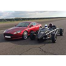 image of Aston Martin Drive & Ariel Atom Ride