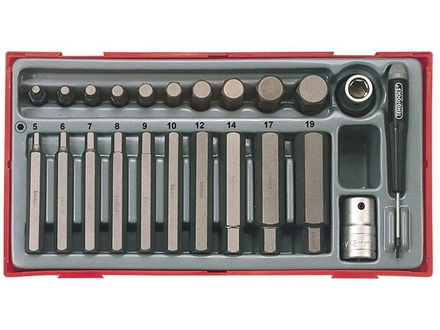Teng TTHEX23 23 Piece Metric Hex Bit Socket Set lowest price