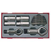 image of Teng Ttsn11 11 Piece Stud & Nut Remover Set