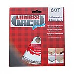 image of Lumberjack Pro Tct 60 Teeth Wood Blade 160mm X 20mm Bore For Festool Ts55 Saw